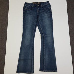 Seven7 Jeans Bootcut Womens Double 7 Bling Pockets